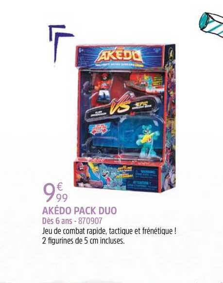King Jouet Akédo Pack Duo