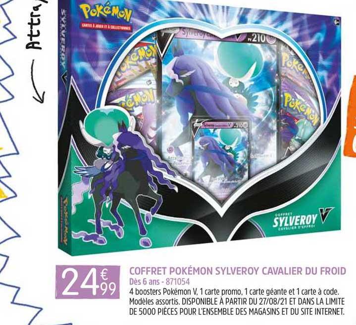 King Jouet Coffret Pokémon Sylveroy Cavalier Du Froid