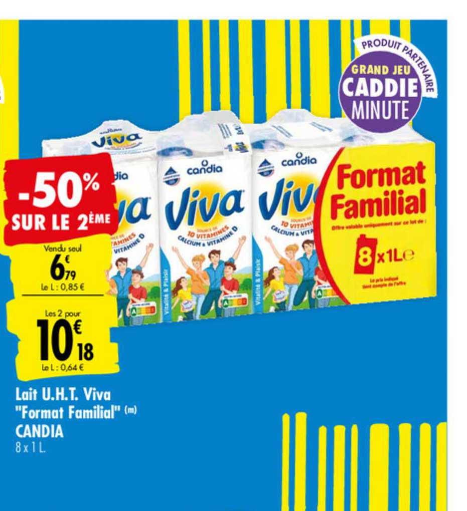 Carrefour Lait U.h.t. Viva
