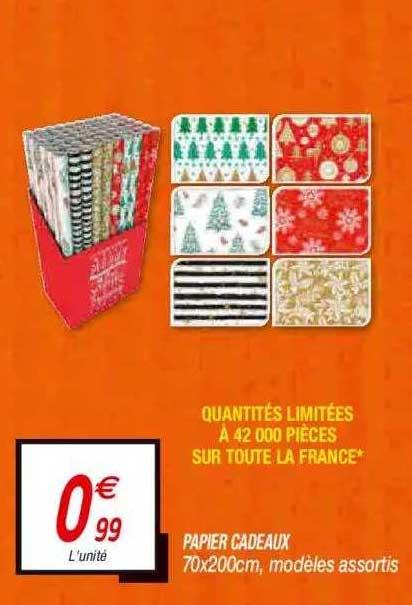 Netto Papier Cadeaux 70 X 200 Cm