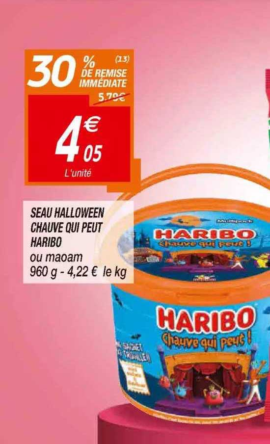Netto Seau Halloween Chauve Qui Peut Haribo