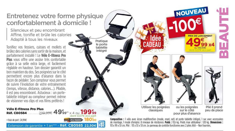 Teleshopping Vélo E Fitness Pro Plus