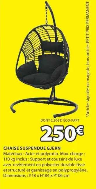 JYSK Chaise Suspendue Gjern