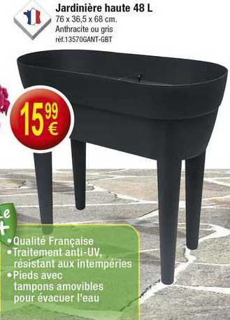 KANDY Jardinière Haute 48 L