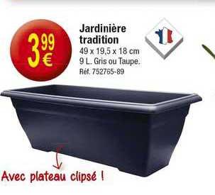 KANDY Jardinière Tradition