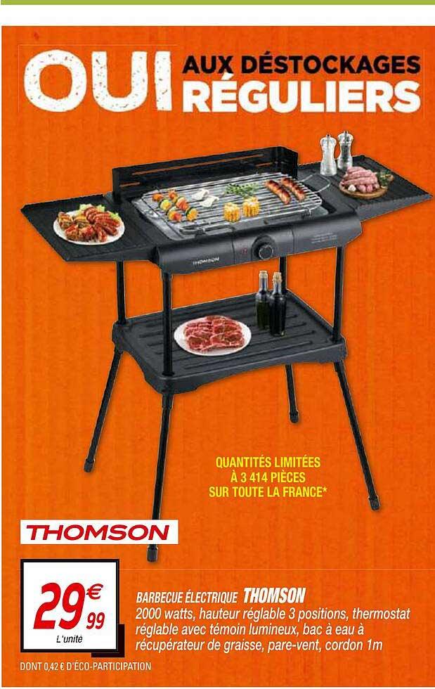 Netto Barbecue électrique Thomson