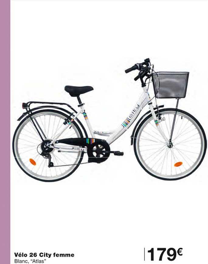 Monoprix Vélo 26 City Femme