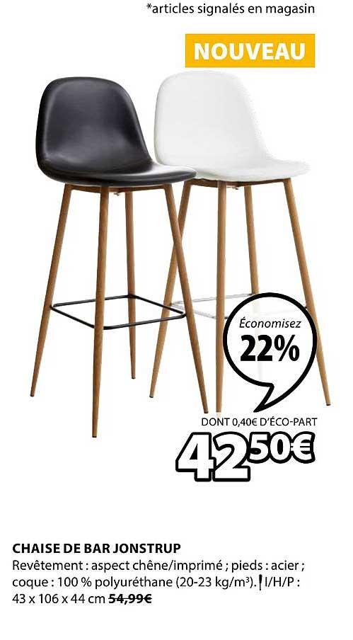 JYSK Chaise De Bar Jonstrup