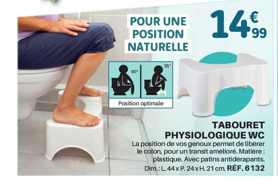 Shopix Tabouret Physiologique Wc
