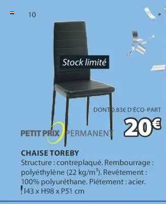 JYSK Chaise Toreby