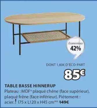 JYSK Table Basse Hinnerup