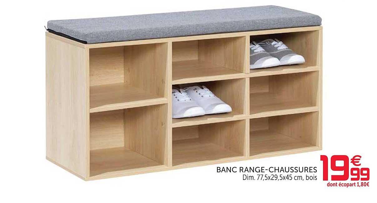 GiFi Banc Range Chaussures