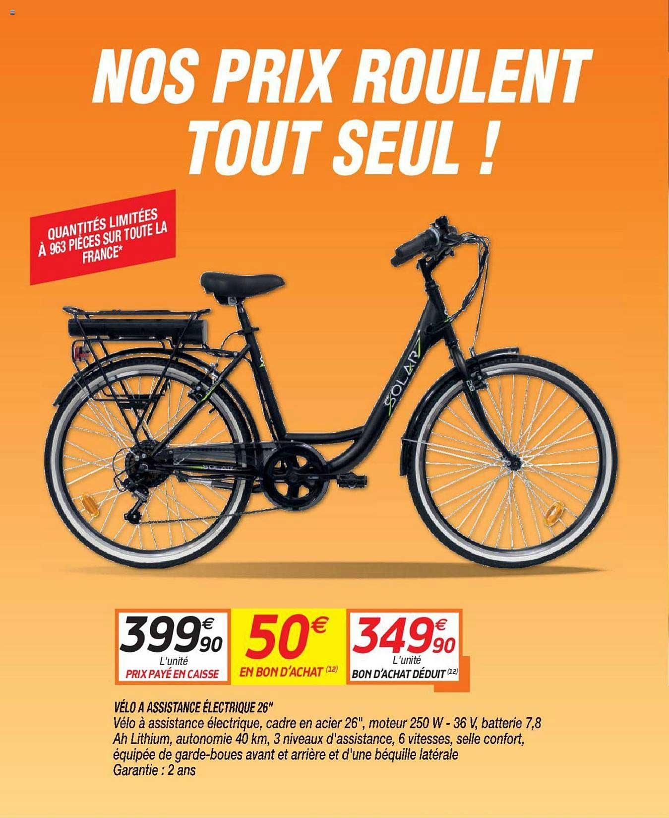 Netto Vélo à Assistance électrique 26''