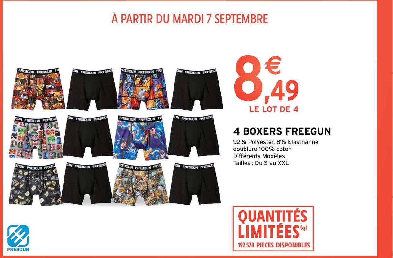 Intermarché Contact 4 Boxers Freegun