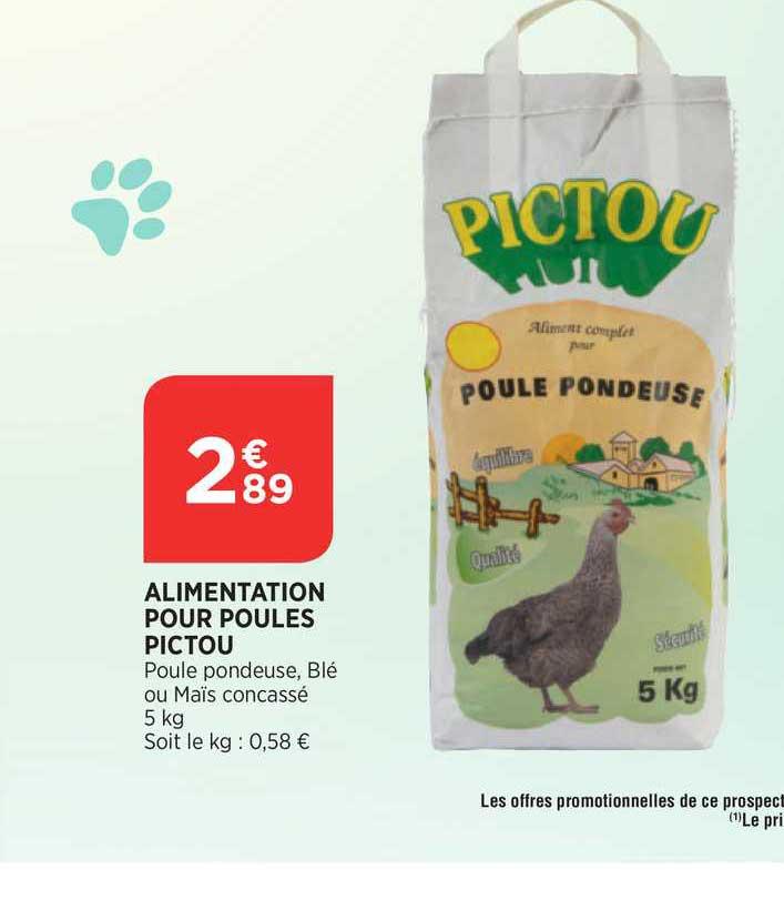 Bi1 Alimentation Pour Poules Pictou