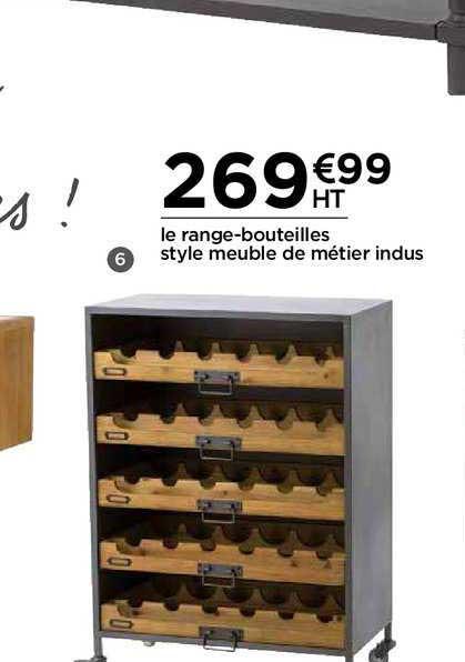 Offre Lot 3 Cubes Range Bouteilles Chez Castorama