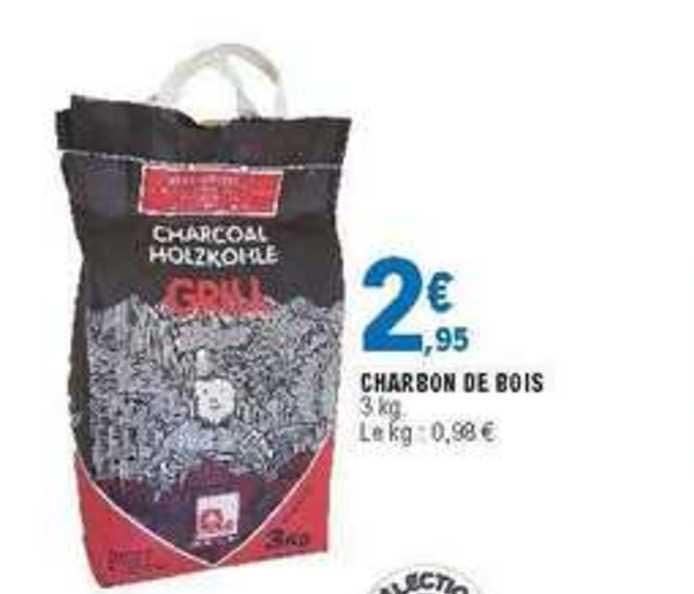 Offre Charbon De Bois 20l Grill 34% De Remise Immédiate chez