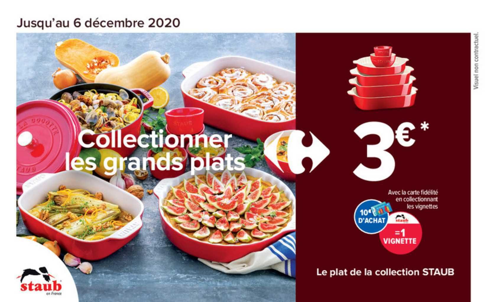Carrefour Market Le Plat De La Collection Staub