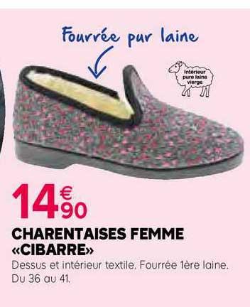 Kiriel Charentaises Femme «cibarre»