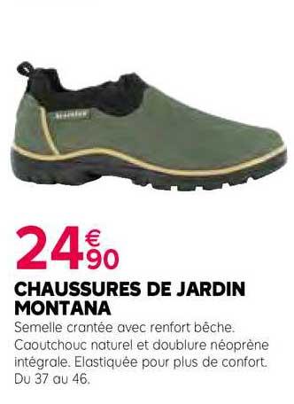 Kiriel Chaussures De Jardin Montana