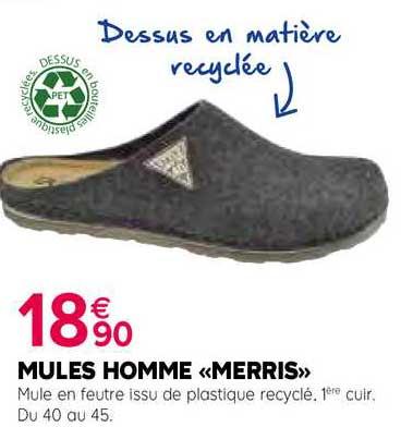 Kiriel Mules Homme «merris»