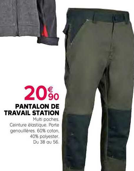 Kiriel Pantalon De Travail Station