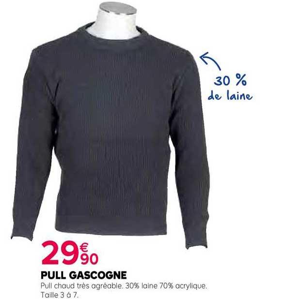 Kiriel Pull Gascogne