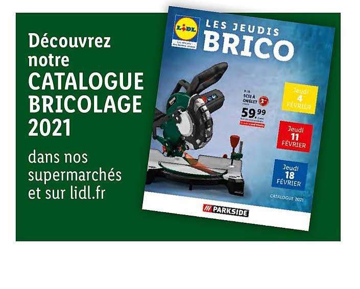 Lidl Catalogue Bricolage 2021 Parkside
