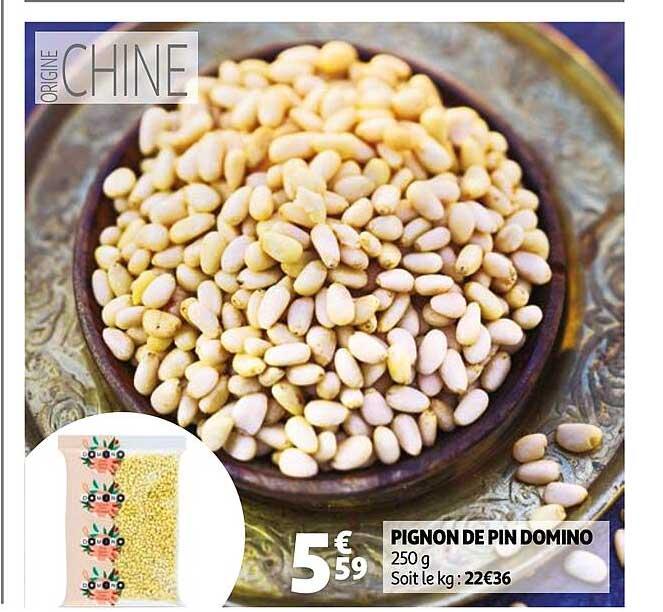 Auchan Pignon De Pin Domino