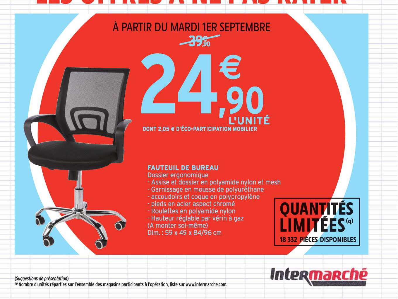 Intermarché Contact Fauteuil De Bureau
