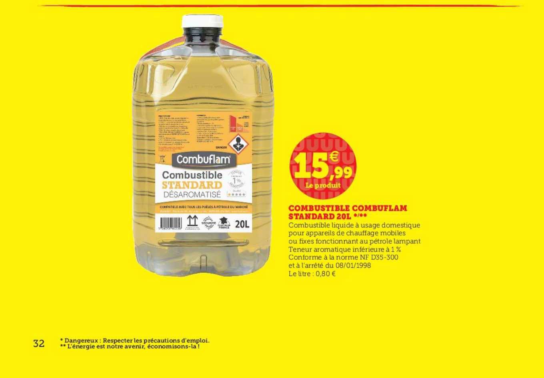 Super U Combustible Combuflam Standard 20l