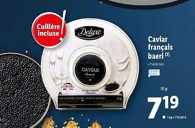 Lidl Caviar Français Baeri