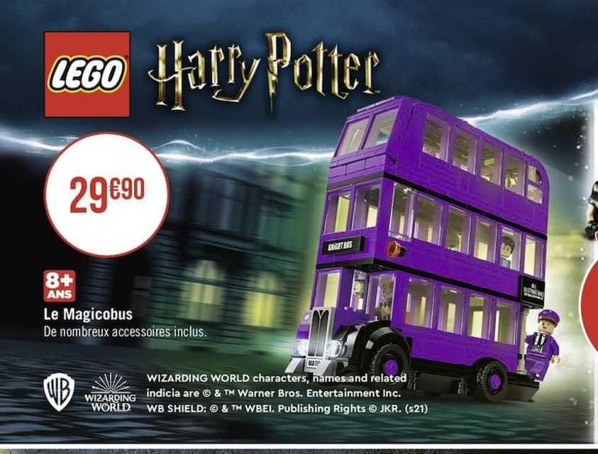 Lego Harry Potter Geant Casino