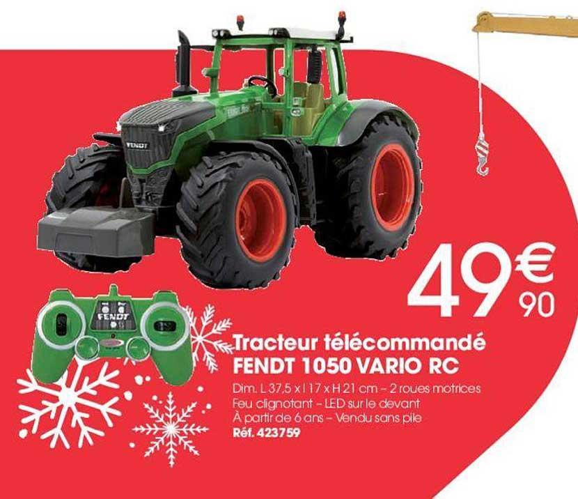 Brico Pro Tracteur Télécommandé Fendt 1050 Vario Rc