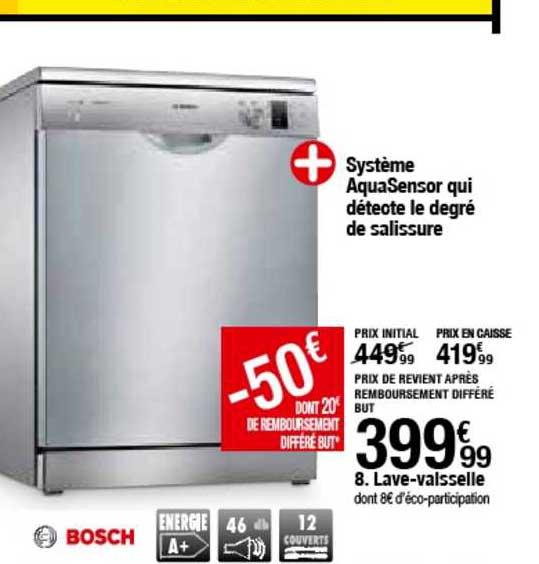 BUT Lave Vaisselle Bosch