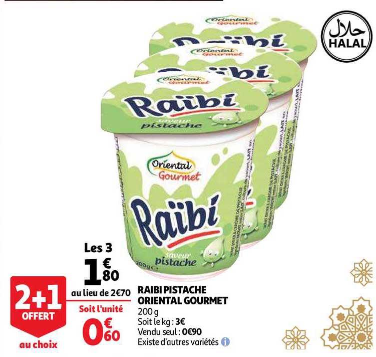 Auchan Raibi Pistache Oriental Gourmet