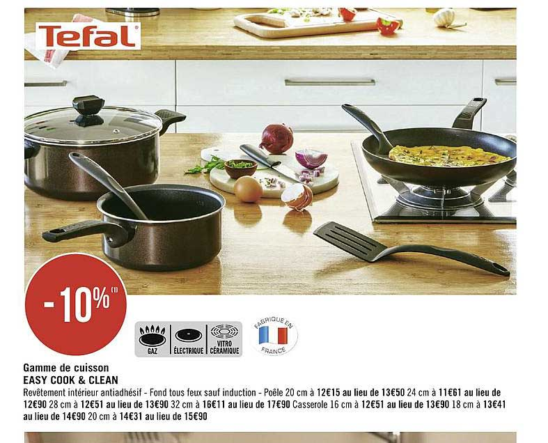 Geant Casino Tefal Ever Cook