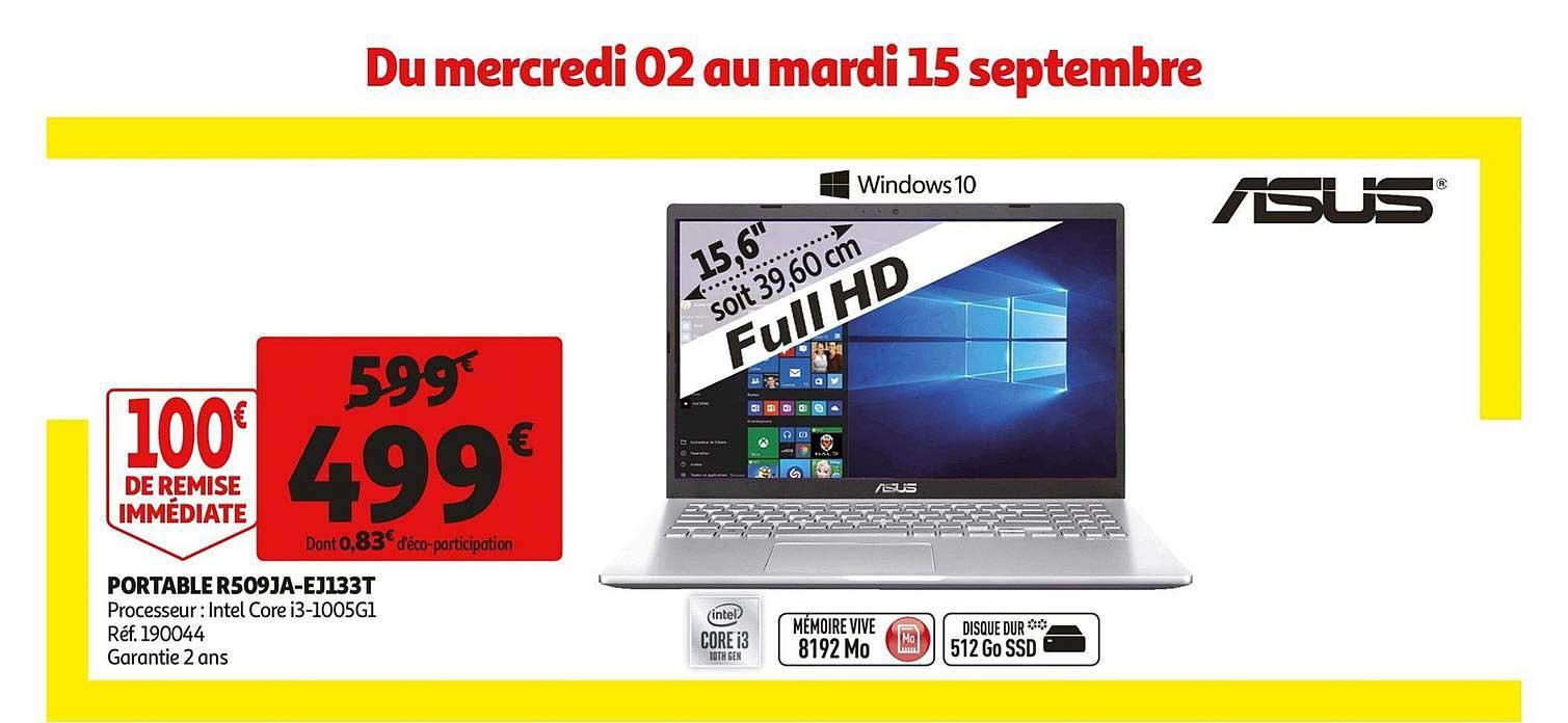 Auchan Portable R509ja Ej133t