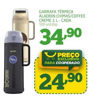 Cooper Garrafa Térmica Aladdin Chimas Coffee Creme