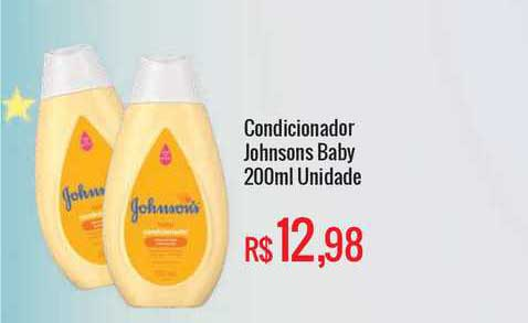 Mart Minas Condicionador Johnsons Baby Unidade