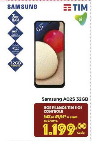 Carrefour Samsung A02s 32gb