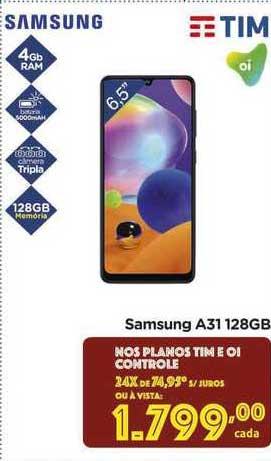 Carrefour Samsung A31 128gb