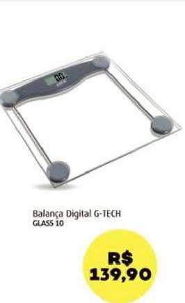 Farmácia São João Balança Digital G-tech Glass 10