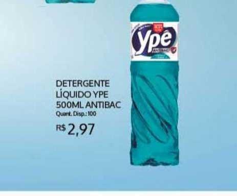 Bistek Supermercados Detergente Líquido Ype 500ml Antibac