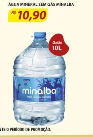 Assaí Atacadista Agua Mineral Sem Gás Minalba