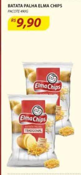 Assaí Atacadista Batata Palha Elma Chips