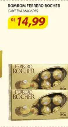 Assaí Atacadista Bombom Ferrero Rocher