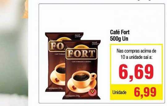 Spani Atacadista Café Fort 500g Un