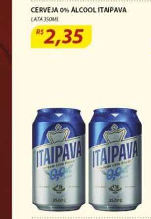 Assaí Atacadista Cerveja 0% Alcool Itaipava