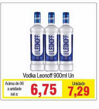Spani Atacadista Vodka Leonoff